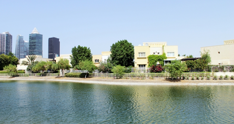 The Lakes Community in Dubai